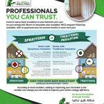 go green insulation flyer back